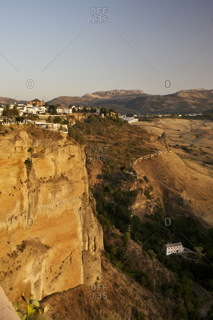 El Tajo canyon near Ronda, Andalusia, Spain