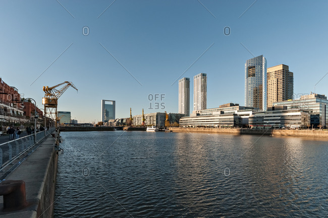 Puerto Madero in Buenos Aires, Argentina