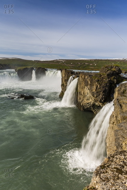 One of Iceland\'s most spectacular waterfalls