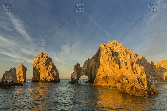 Sunrise at Land's End, Cabo San Lucas, Baja California Sur