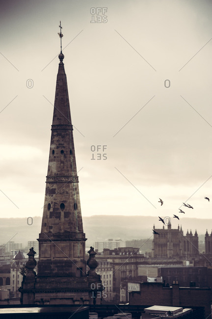 Four-sided steeple, Bristol, England