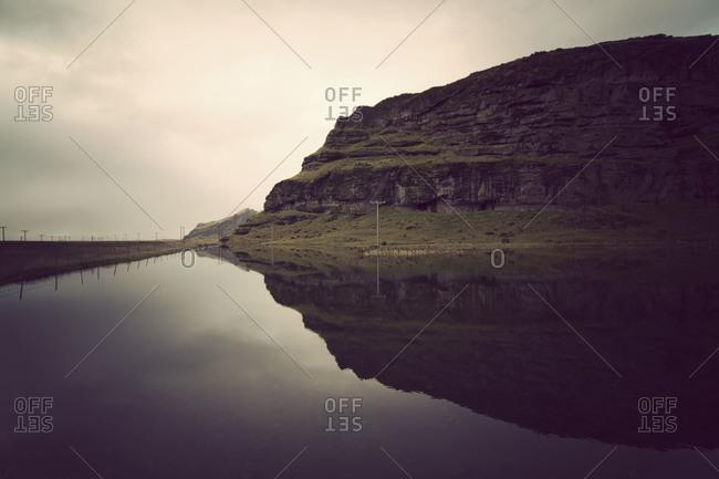 Landscape of rural Iceland