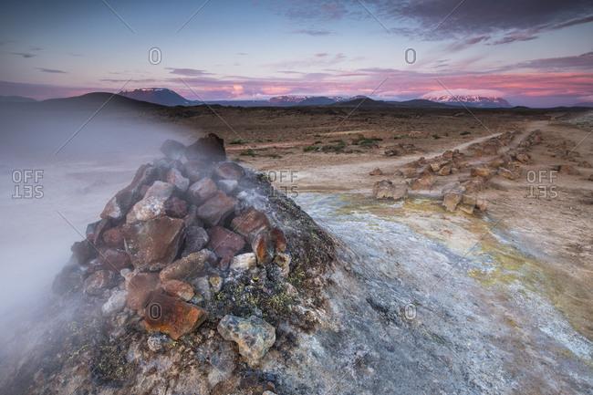 Hverir fumarole, Iceland