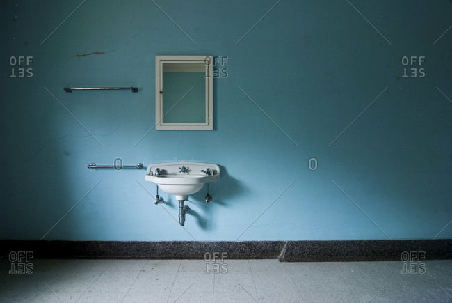 Interior of an abandoned hospital