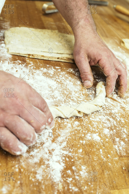 Making dough from the Offset Collection