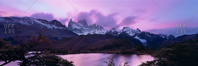 The Cuernos del Paine in Torres del Paine National Park