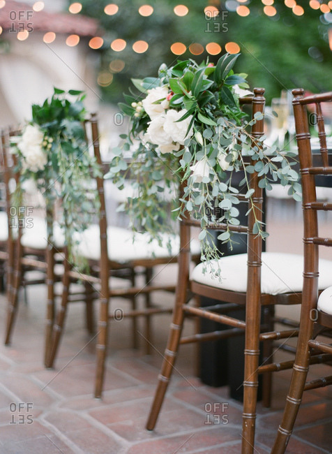 Chairs at banquet hall