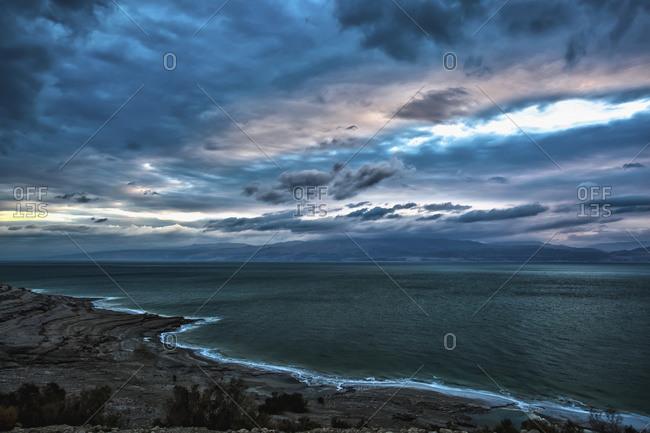 Sunrise over the Dead Sea, Israel