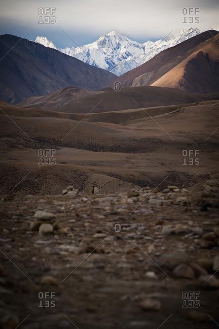 Mountainous landscape, Tibet