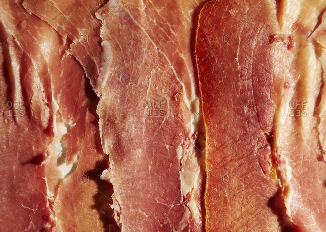 Prosciutto creates a pattern - Offset