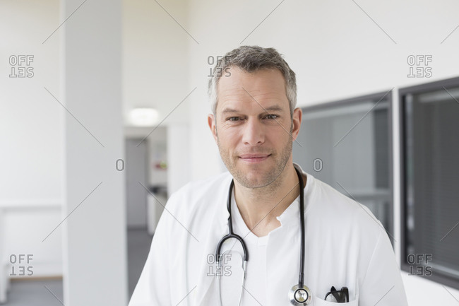 Doctor smiling, portrait