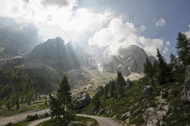 Val Venegia and Pale di San Martino, Venetia, Italy
