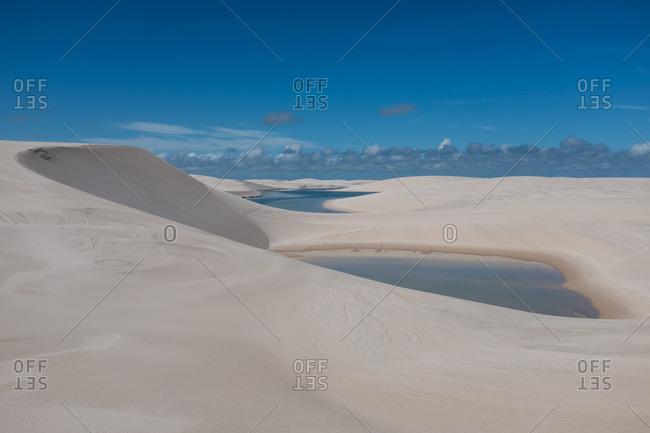 Lagoon in the sand Dunes