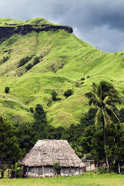 Traditional village Navala, Fiji
