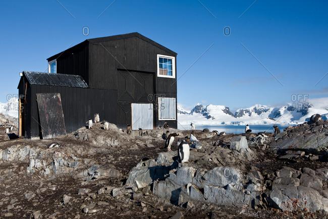Gabriel Gonzalez Videla Base at Paradise Bay, Antarctica