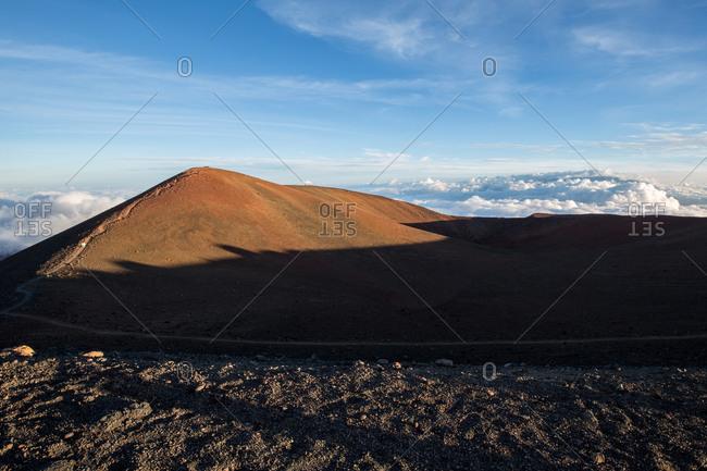 Peak of Mauka Kea