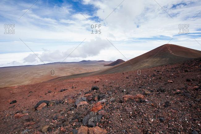Rocky fields of Mauna Kea