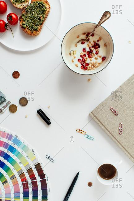 A creative work space