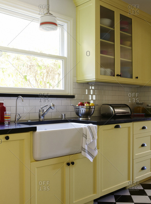 Kitchen Sink With Window Stock Photos Offset