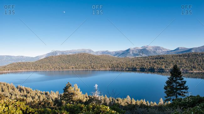 Fallen Leaf Lake view - Offset