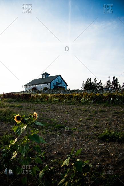 Farm house on North Haven Island, Maine