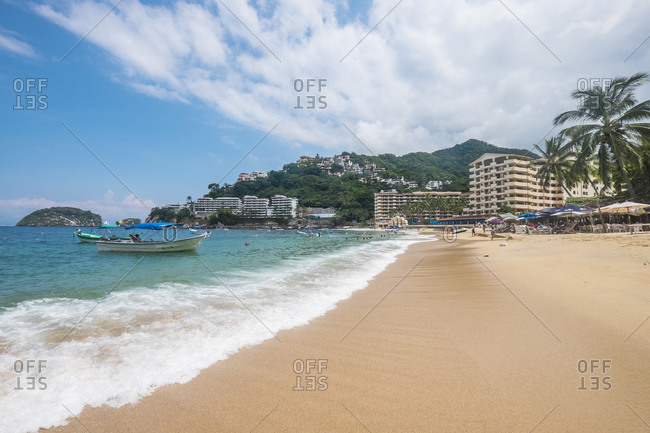 Mismaloya Beach, Banderas Bay - Offset