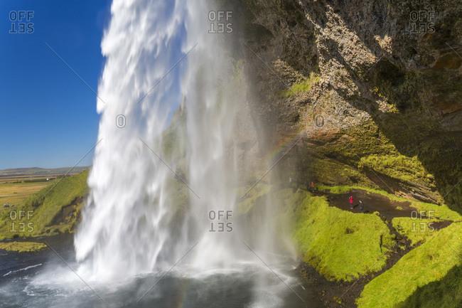 Seljalandsfoss waterfall in Iceland - Offset