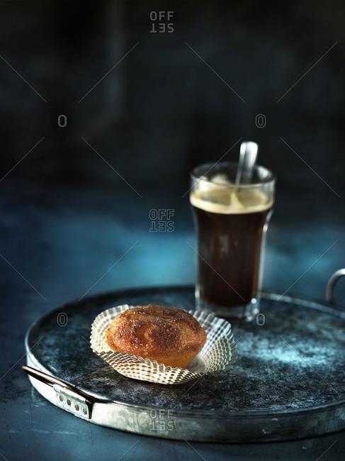 Espresso and orange muffin
