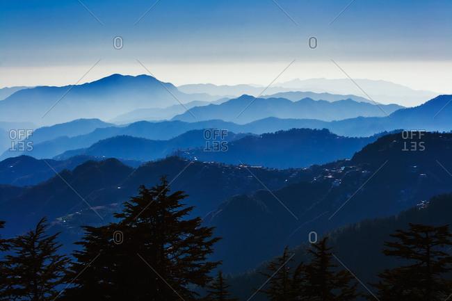 Landscape of Himachal Pradesh, India