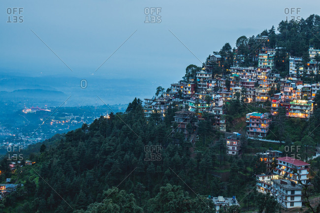Houses at Mcleodganj - The little Lhasa in India