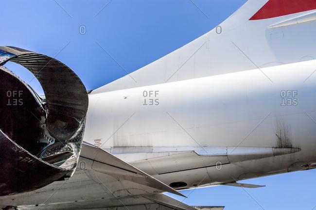 Shape of airplane