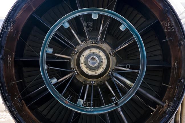 Part of an aircraft