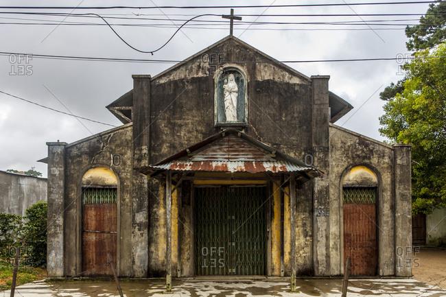 An abandoned chapel