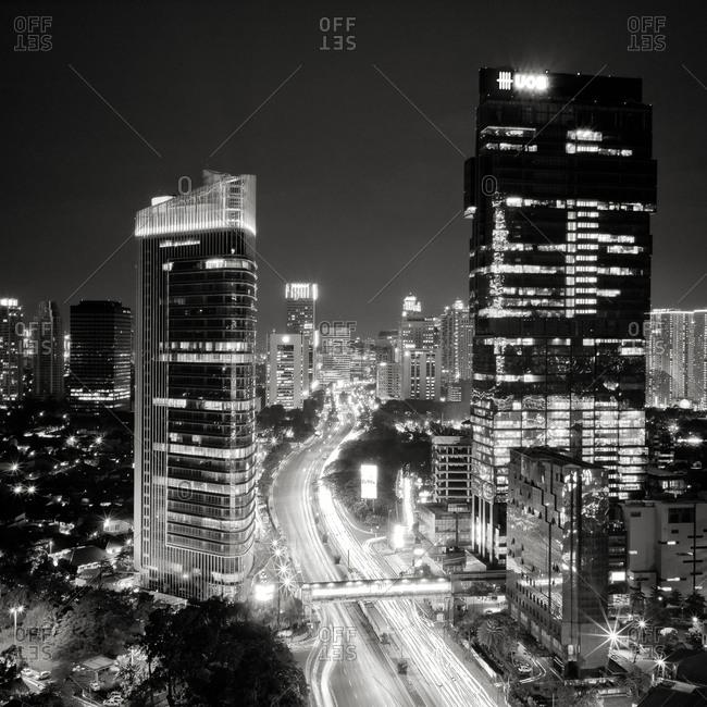 Lights of Jakarta, Indonesia