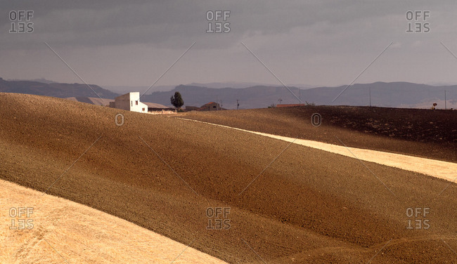 Landscape in Sicily, Italy