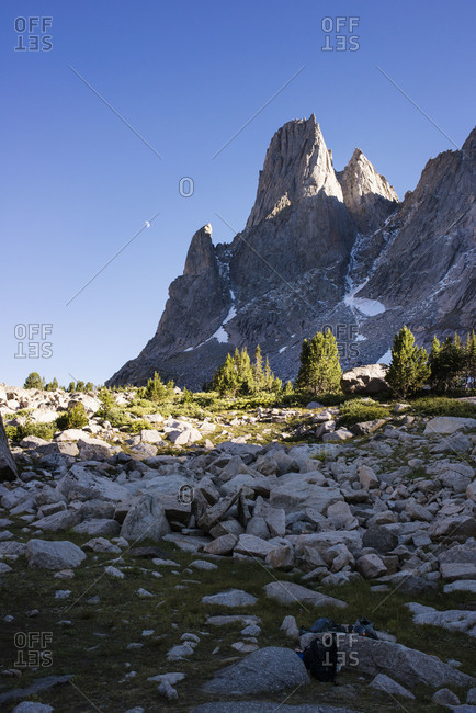 Pingora Peak in the Cirque of the Towers, Wind River Range