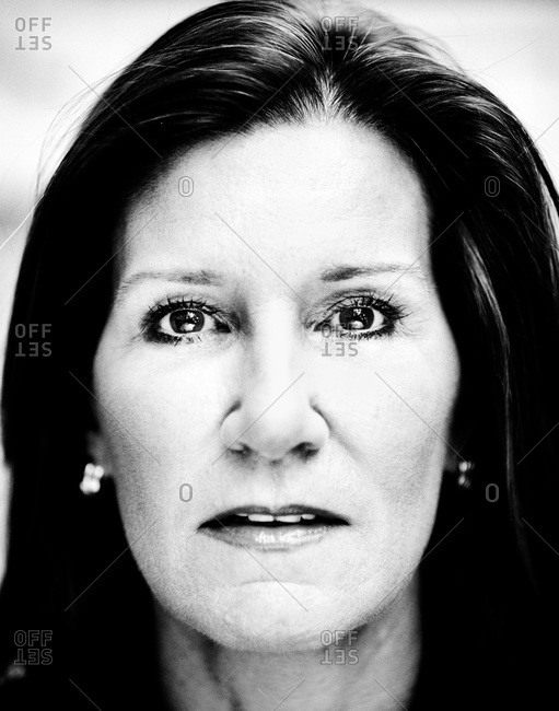 New Orleans, Louisiana - February 26, 2012: Portrait of Mary Matalin