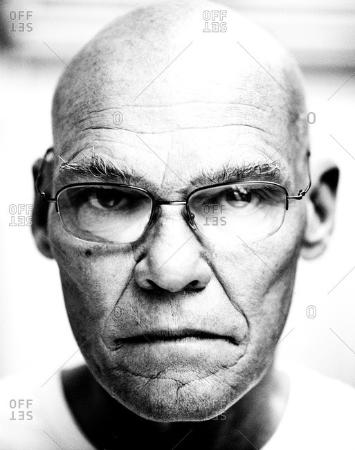 New Orleans, Louisiana - February 26, 2012: Portrait of James Carville