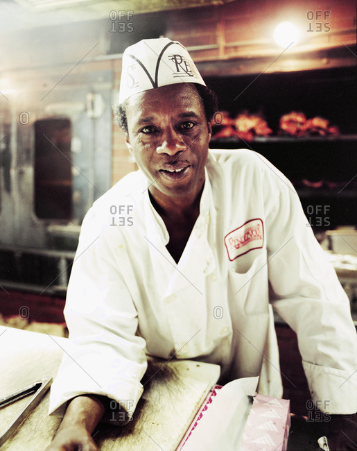 Memphis, Tennessee - February 1, 2012: Henry, Pit Master at Rendesvous