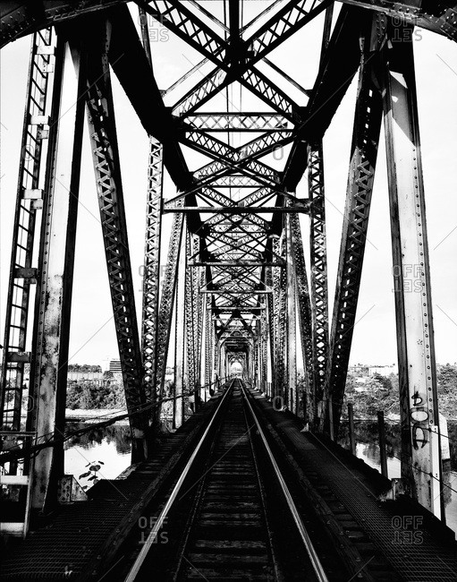 Rail bridge in Nashville, Tennessee