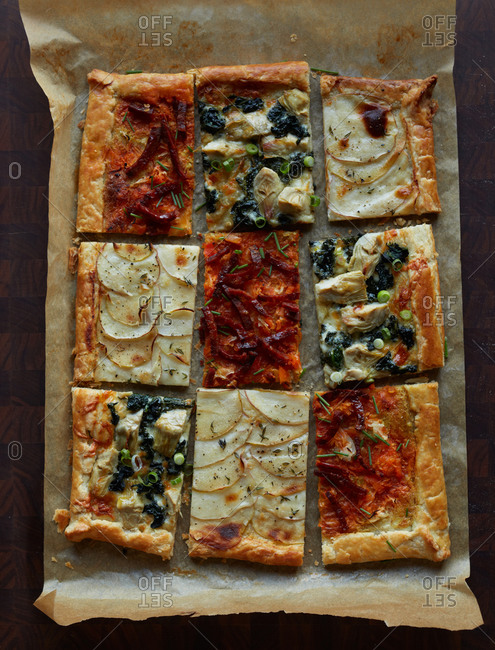 A selection of galettes