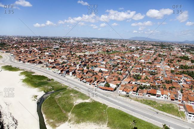 Low-rise housing in the Fortaleza area, Brazil