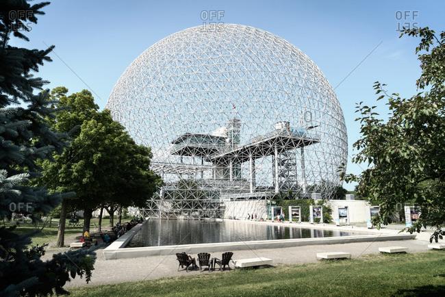 August 13, 2014 - Montreal, Canada: Biosphere museum