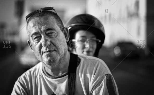 Sicily, Italy - September 7, 2011: Portrait of a fisherman