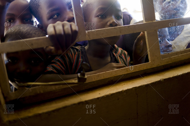 Luchenza, Malawi - April 18, 2013: Komai school program