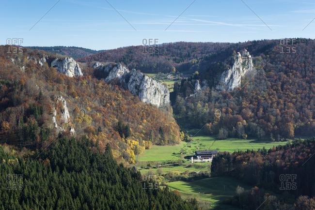 Upper Danube Nature Park in autumn