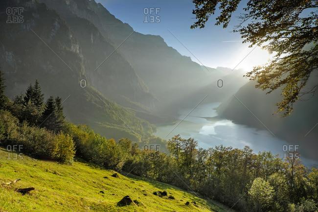 Canton of Glarus, Kloen Valley