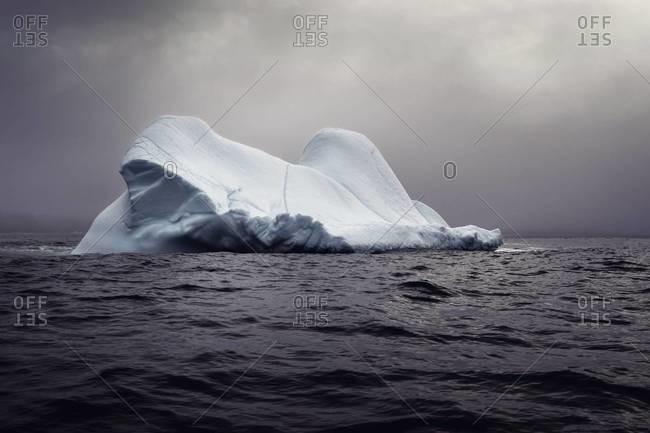 Iceberg off coast of Newfoundland