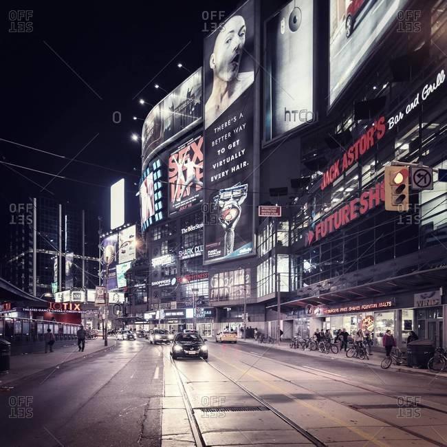 Billboards in Toronto