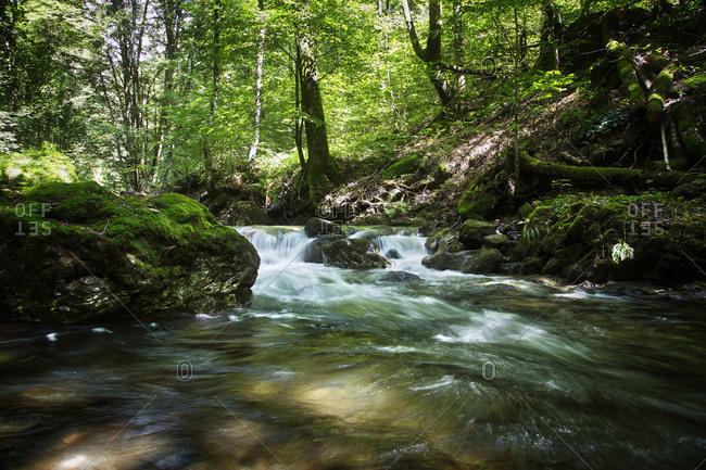 River Franscinone in Ticino, Switzerland